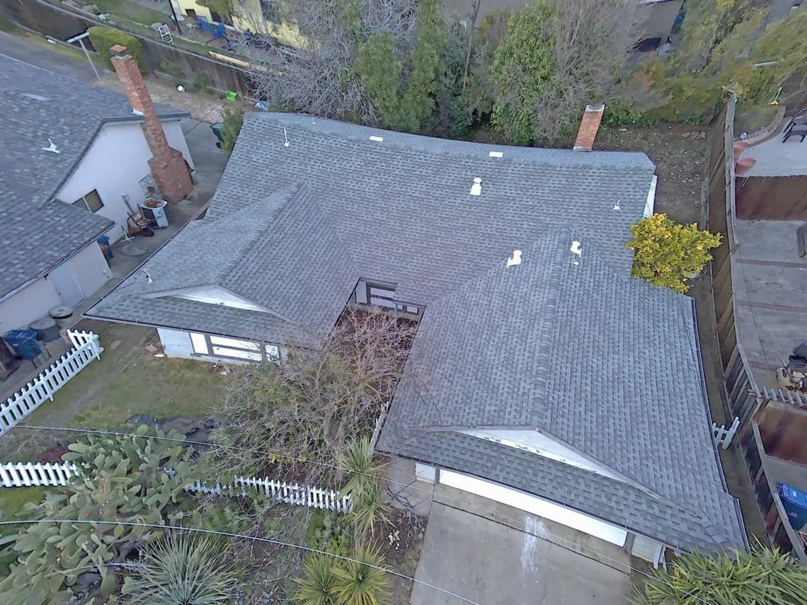 Drone-overhead